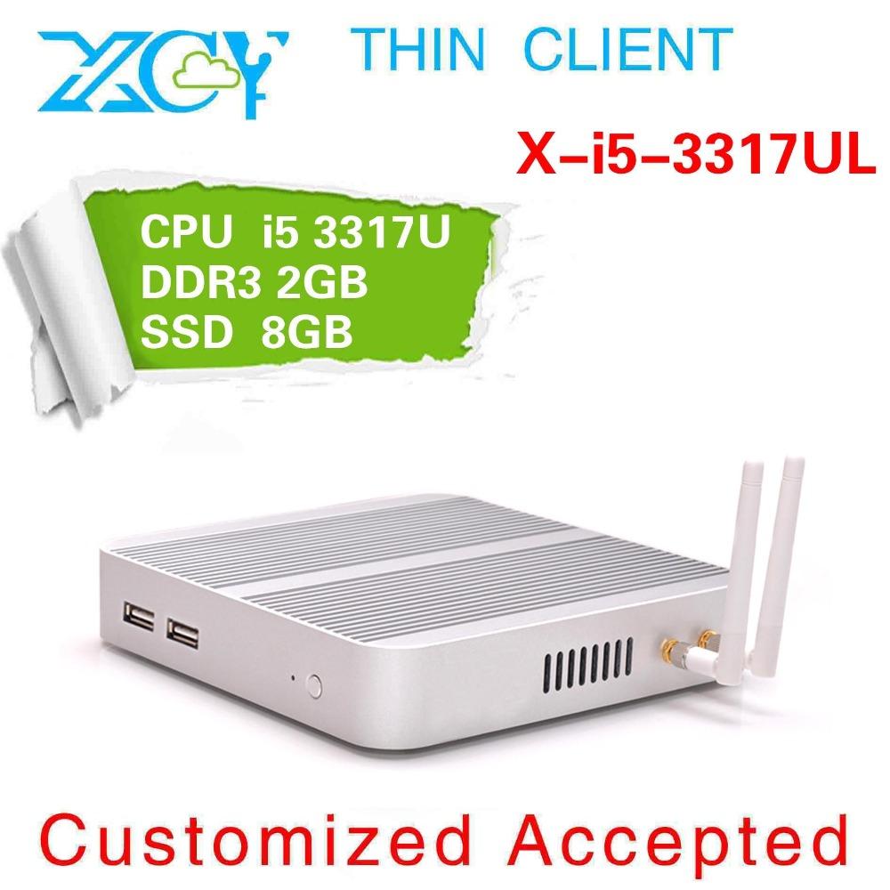 High performance but save power super miini desktop pc x-i5-3317ul 1.7ghz 4gb ram 16gb ssd windows7 linux silvery micro shell pc(China (Mainland))