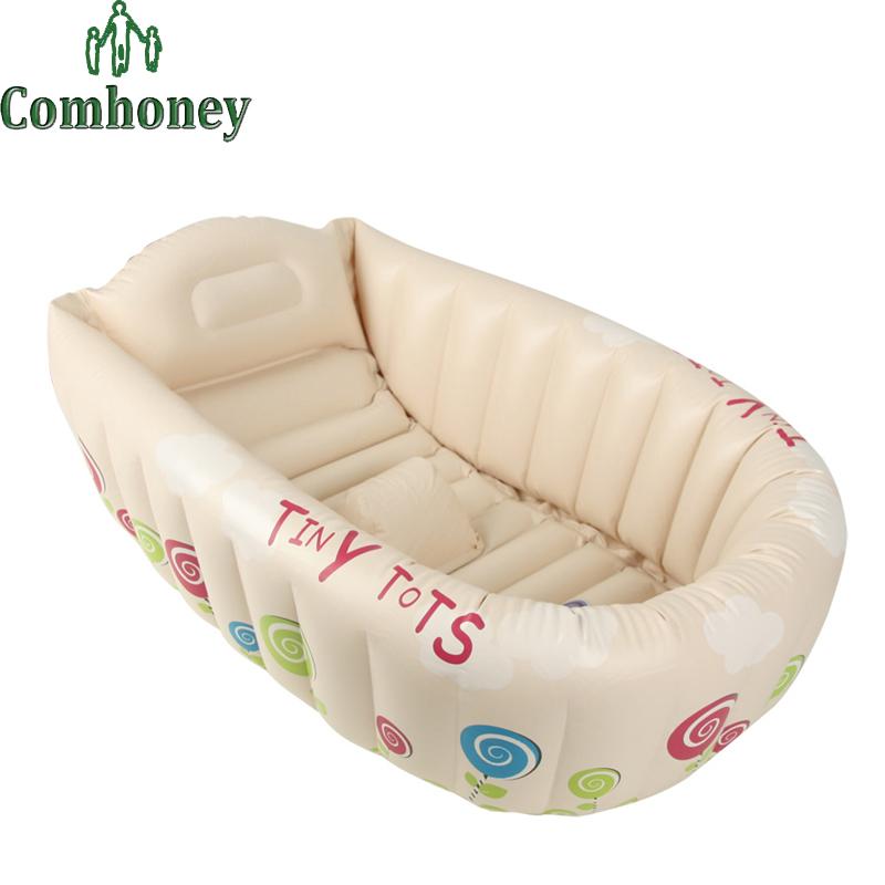Sitz Stuhl F?r Dusche : Inflatable Safety Baby Bath Tub