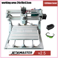CNC 2418 500mw laser GRBL control Diy CNC machine working area 24x18x4 5cm 3Axis pcb pvc