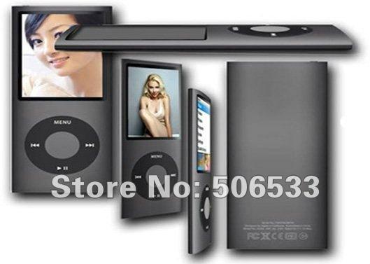 New 1.8 inch LCD 4th Digital MP3 Player music Video FM Radio E-Book for 2GB 4GB 8GB 16GB SD TF memory Card slot