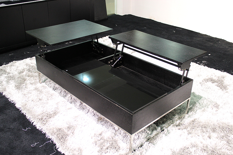 table basse avec plateau qui se leve. Black Bedroom Furniture Sets. Home Design Ideas