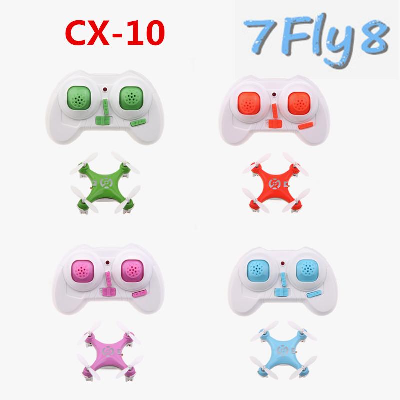 cheerson cx-10 cx10 mini 2.4ghz 4ch rc remote control quadcopter helicopter drone cx 10 led toys