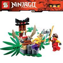 5Ninjago Set Kai Krait Jungle Trap Ninja Building Bricks Blocks Minifigures SuperHero Toys Compatible Lego 70752 - Top Toy Seller store