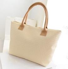 Hot Selling Women PU Leather Handbag Tote Shoulder Bags Large Capacity PU Weave Bags F202
