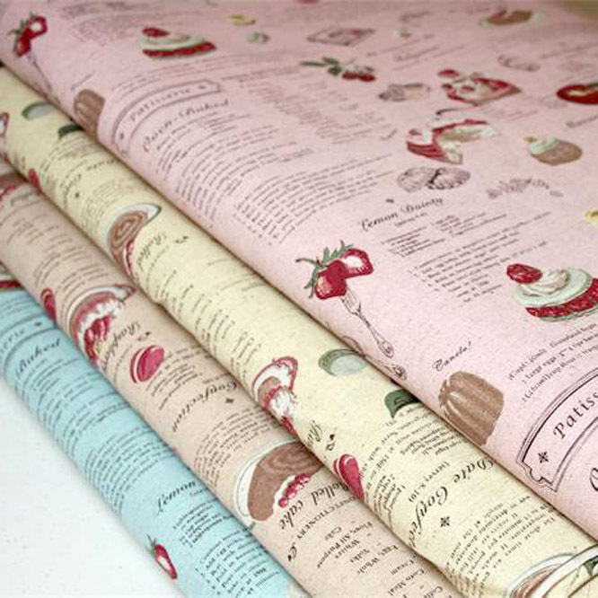 Vintage cake cheap apparel sewing print material fabrics for Cheap sewing fabric