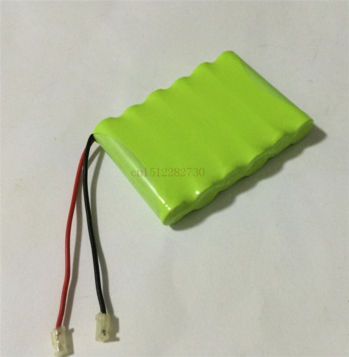 10 Pieces/lot Brand new 7.2v AAA 800mAh ni-mh battery pack Rechargeable batteries Free shipping(China (Mainland))