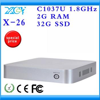 Highest cost Effective Wireless PC Station Thin Client Computer  New Arrival with Dual Core CPU RAM 2GB SSD32GB with Wifi