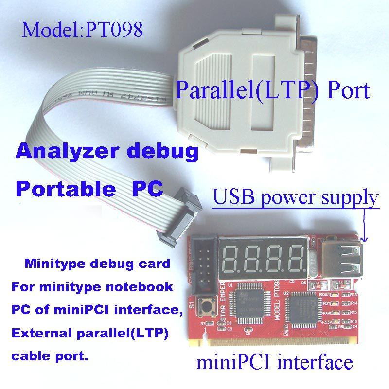 laptop PC POST code analyzer card debug card POST code card test card(pt098)(China (Mainland))