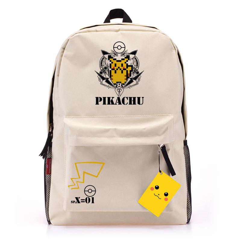 Pokemon Backpack - Retail Pcs Anime Pokemon Backpack Student School Bag Pikachu Double Shoulder Trekking Rucksacks Bpa
