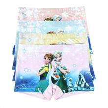 Kids Children Underwear Girls 2016 Princess Underwear Kids Panties Girls' Briefs Child Boxer Panties Children Clothing Anna Elsa