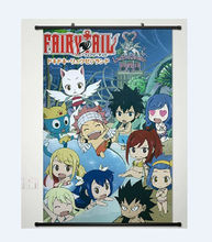 Fairy Tail Natsu Dragnir Home Decor Anime Japanese Poster Wall Scroll Whole