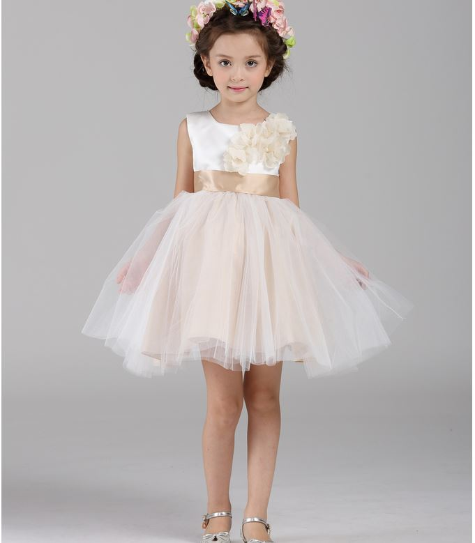 Bridal girl dresses the image kid has it for Wedding dresses for child