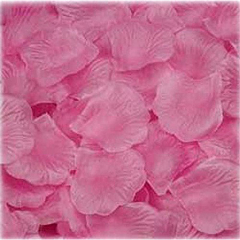 1000PC Silk Artificial Flower Rose Petals Wedding Party Decorations RD Valentine petale de rose