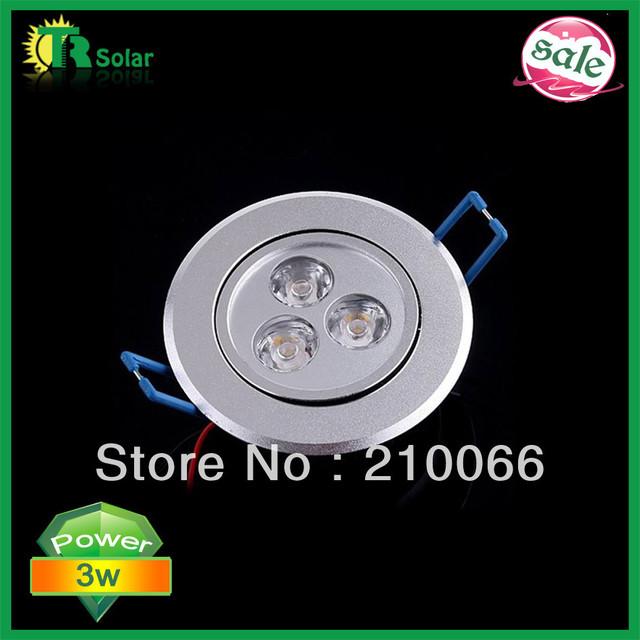led down light 3w led ceiling light,10pcs/lot,Warm white/cool white AC85-265V  Energy Saving Led Lamp free shipping
