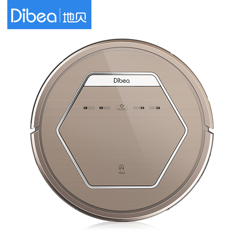 Newest smart robot cleaner vacuum mother's gifts Design vacuum cleaner sweeper Dibea ZN-808(China (Mainland))