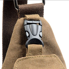 Fashion Men Messenger Bags Casual Outdoor Travel Hiking Sport Casual Chest Canvas Male Small Retro Military
