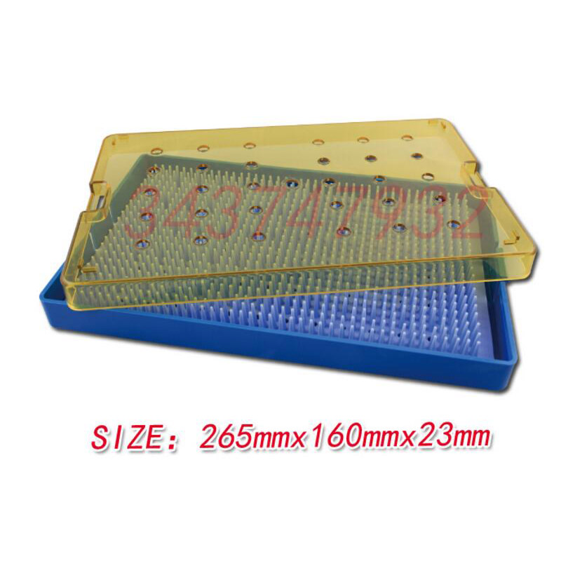 Фотография Hot sale Ophthalmic microsurgical instruments Surgical Autoclavable Surgery Silicone disinfection box