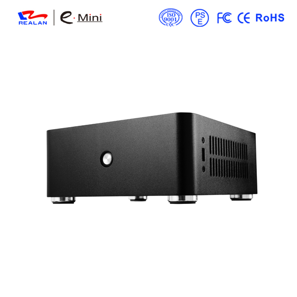 Realan New H80 Mini ITX Case without Power Supply, Computer Case PC Desktops(China (Mainland))