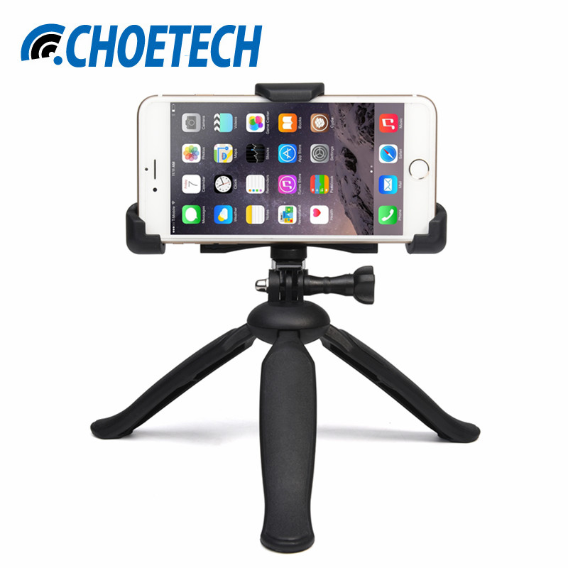 CHOETECH Universal Phone Holder Mobile Phone Tripod Stand for iPhone 7 6 6S Plus 5S Xiaomi Samsung Galaxy S7 HTC Bracket Holder(China (Mainland))