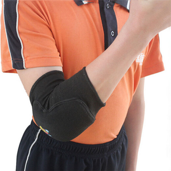 Children 1pc Thicken Breathable Durable Elbow Support Brace Protector Pad Crashproof Sport Elbow Guard 2 Colors AY673966(China (Mainland))