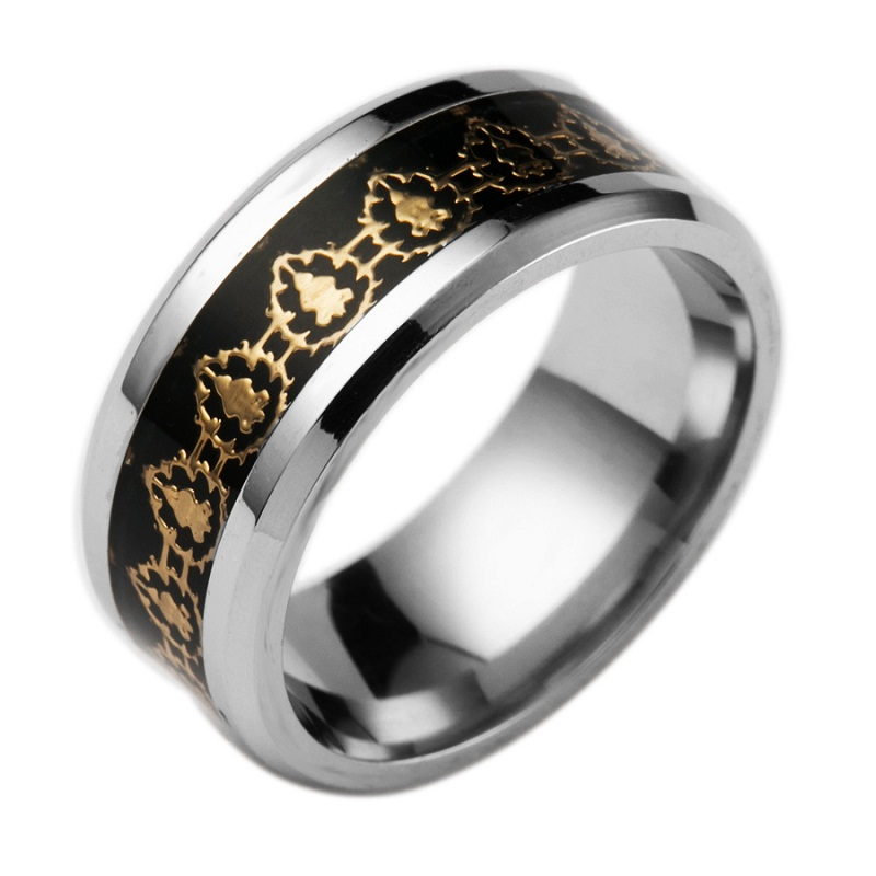 2016Hot Movie World of Warcraft Ring Fight For The Alliance Rings Game Jewelry For Fans WOW Ring Alliance(China (Mainland))