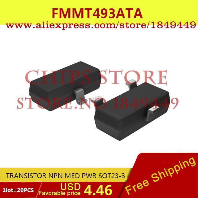 Цена FMMT493ATA