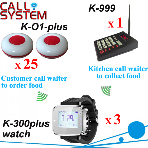 Service Caller Table Bell Caller; Guest call waiter to order Chef call waiter to pick up order DHL Free Shipping(China (Mainland))