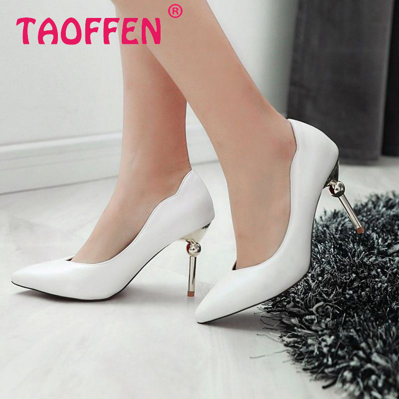 women high heel pumps pink pointed toe concise shoes fashion ladies quality footwear thin heels shoes size 34-43 P22480