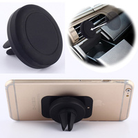 Universal Car Magnetic Air Vent Mount Clip Holder Dock For iPhone For Samsung Cell Phone Tablet GPS