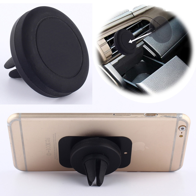 Universal Car Magnetic Air Vent Mount Clip Holder Dock For iPhone For Samsung Cell Phone Tablet GPS(China (Mainland))