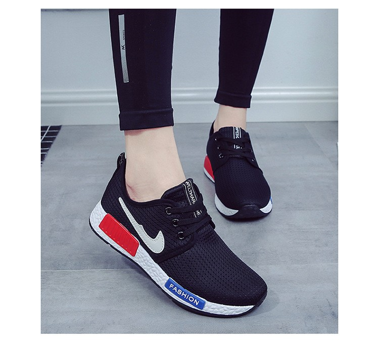 Women Casual Shoes 2016 New Women To Help Low Breathable Mesh Casual Shoes mesh flat shoes free shipping
