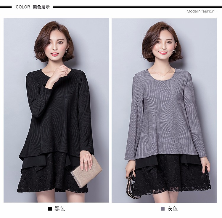 Buy women elegant glentwomen knife lace patchword chiffon sexy dress plus XL 2XL 3XL 4XL 5XL dress lady's clothing Isweeland453 cheap