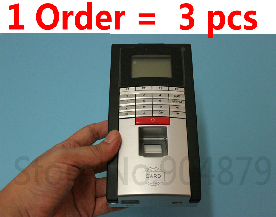 Free shipping Secubio F8-C TCP/IP Water-proof Fingerprint Access Control and time attendance terminal with RFID card