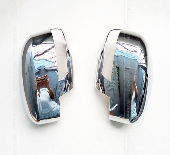 FIT FOR 2012 2013 2014 FORD FOCUS DOOR SIDE MIRROR CHROME COVER CAP REAR VIEW TRIM ACCESSORIES(China (Mainland))