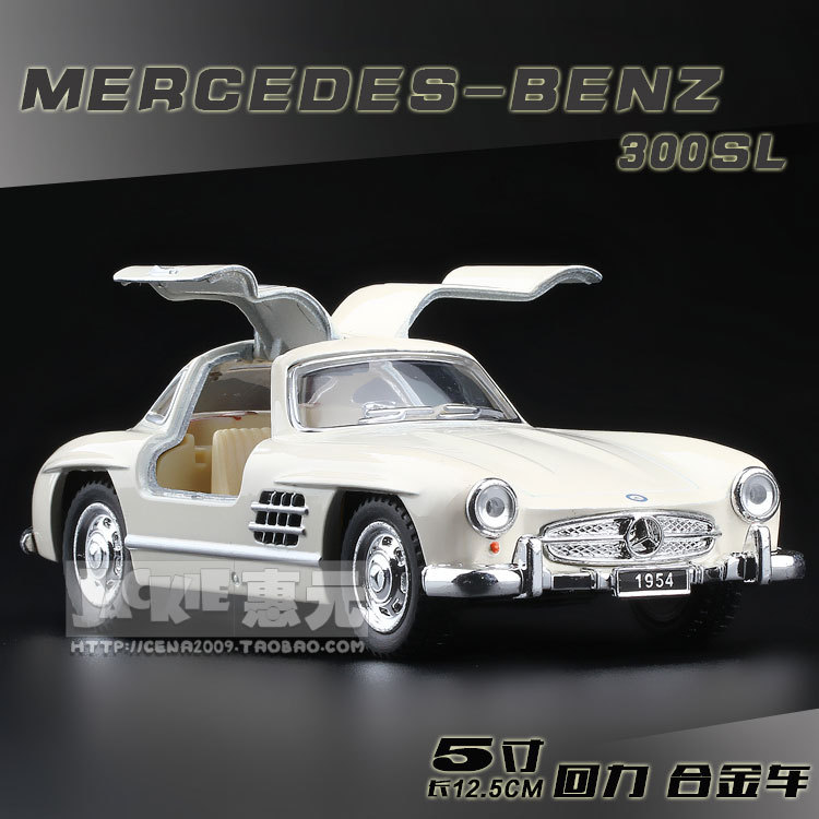 High Simulation Exquisite Baby Toys: New and Original Mercedes Benz 300SL Model 1:36 Alloy Sports Car Model Excellent Gifts(China (Mainland))
