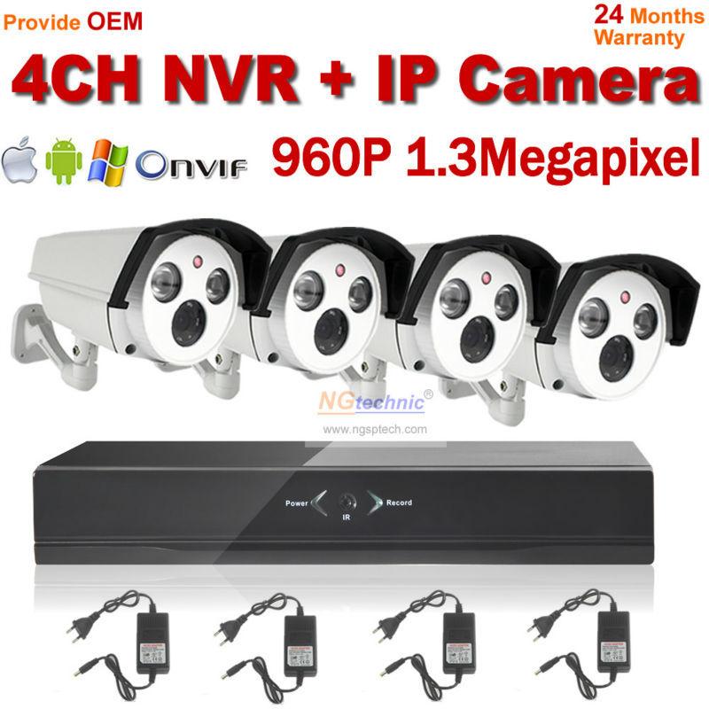 Здесь можно купить  1.3 Megapixel Outdoor IP Camera 4ch NVR kit Security System 960P Full realtime NVR IP Camera NVR Kit System HDMI 1080P NVR 1.3 Megapixel Outdoor IP Camera 4ch NVR kit Security System 960P Full realtime NVR IP Camera NVR Kit System HDMI 1080P NVR Безопасность и защита