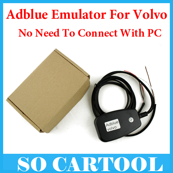 5pcs/lot New Truck Adblue Emulator for VOLVO , Truck Adblue Emulator Disable AdBlue System Start Truck For Volvo Fast Shipping(China (Mainland))
