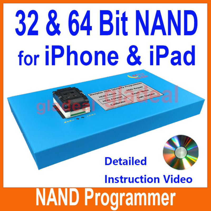 32 64 Bit NAND Flash IC Chip Programmer Tool Fix Repair Motherboard HDD Chip Serial Number SN Model iPhone iPad