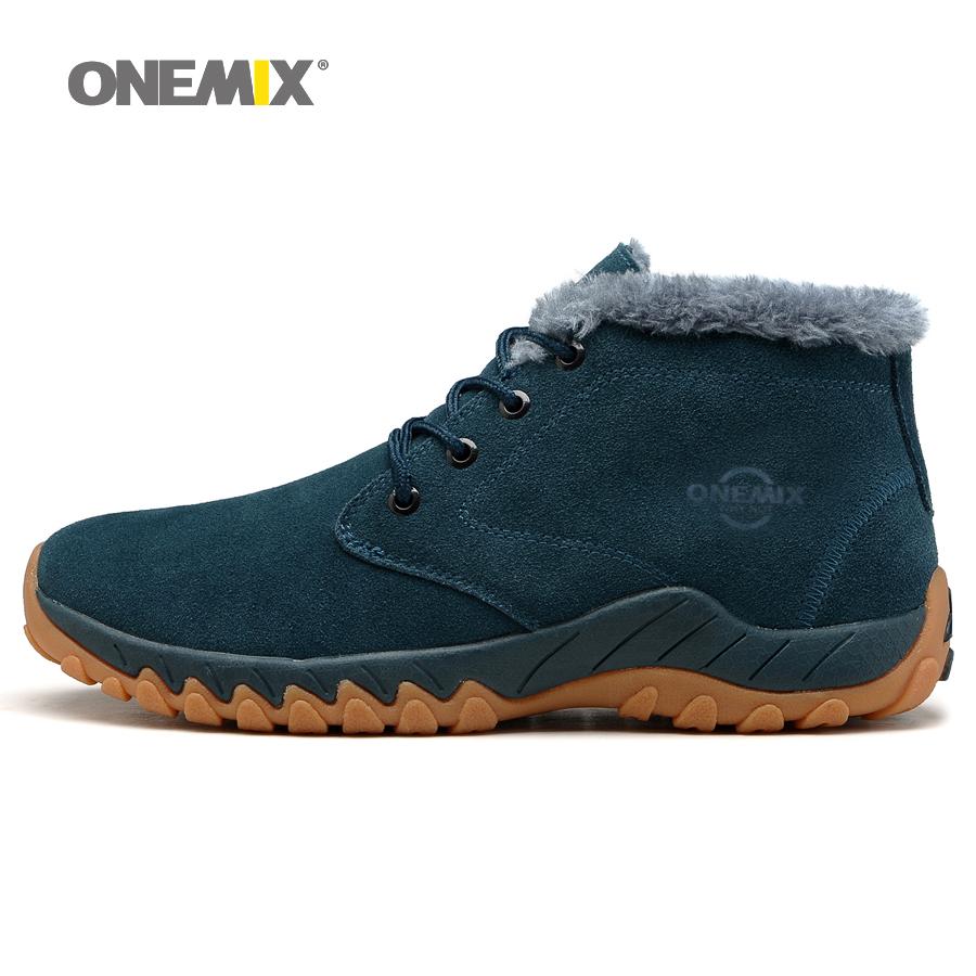 aliexpress buy onemix winter s warm hiking shoes