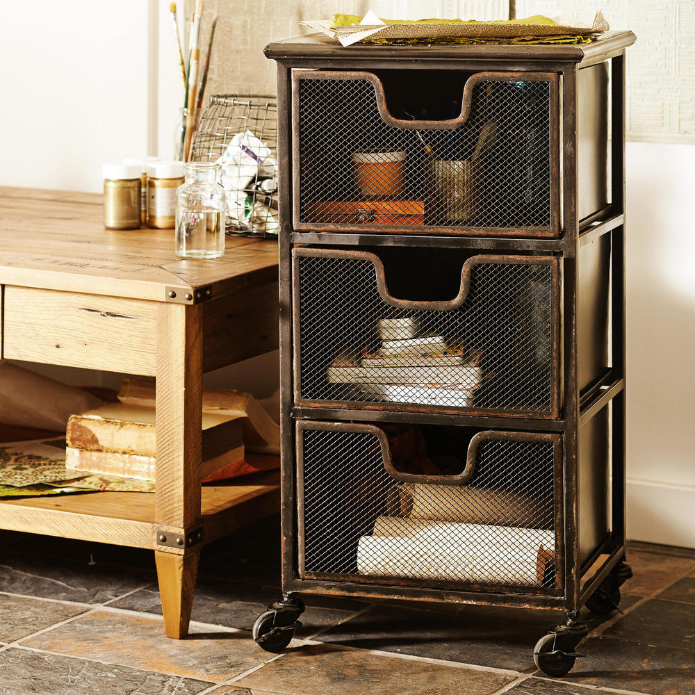 French country furniture wrought iron loft industrial