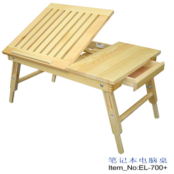 wholesale Solid wood laptop table drawer lift bed desk