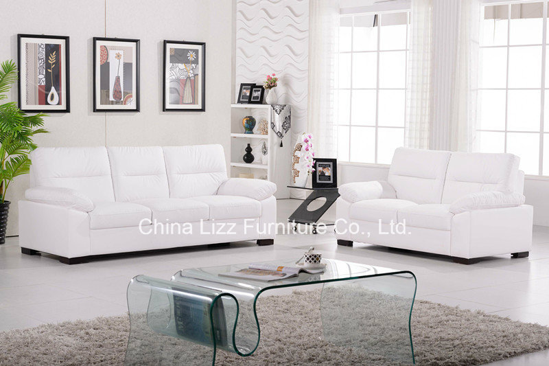 Lizz Living Room Office White Leather Sofa Set Many Colors