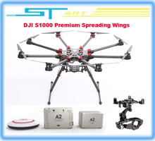 2015 DJI S1000 Premium Spreading Wings Quadcopter with RC FPV Multi-rotor DJI A2 and DJI Zenmuse 5DII or 5DIII Brushles girl toy(China (Mainland))