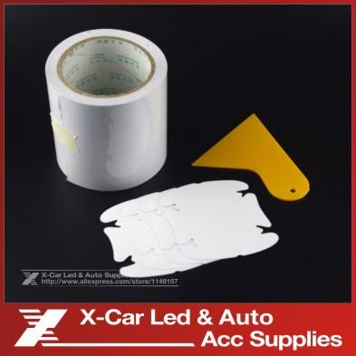 10cm/15cm/20cm x5M Rhino Skin Sticker Car Bumper Hood Paint Protection Film PVC Vinyl Clear Transparence Film Thickness 0.2mm(China (Mainland))