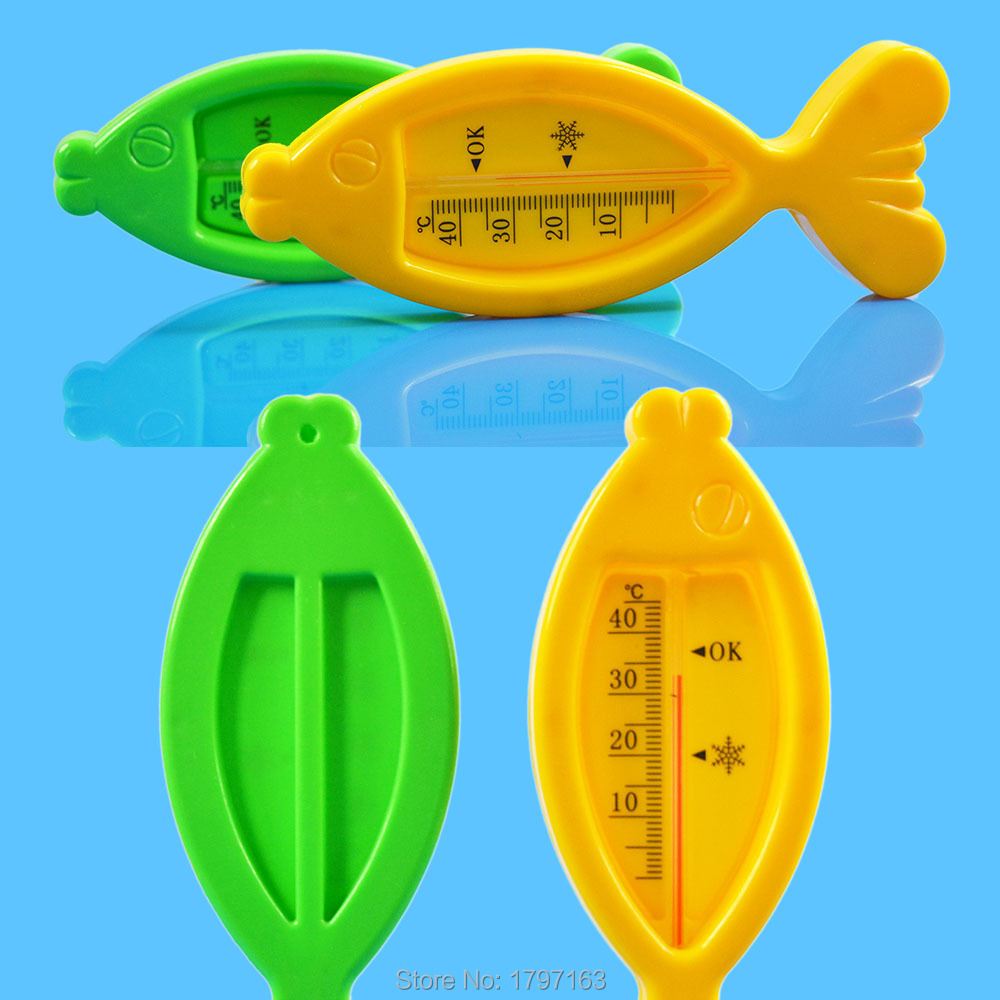 Baby Water Thermometer Floating Lovely Fish Plastic Float Bath Toy Tub Sensor Temperature Meter(China (Mainland))