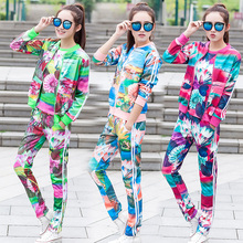 3 sets 2016 Spring And Fall New Women's sports jacket hooded jacket Women Fashion Casual Zipper Coats three sets suit(China (Mainland))