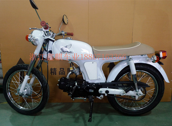 Motorcycle 110CC 70 classic refit black white  engine<br><br>Aliexpress
