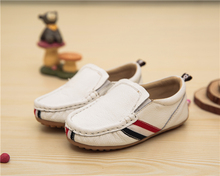 Children's shoes 2016 Spring Autumn Genuine Leather Boys shoes, Baby boy Peas shoes First Walkers toddler shoes