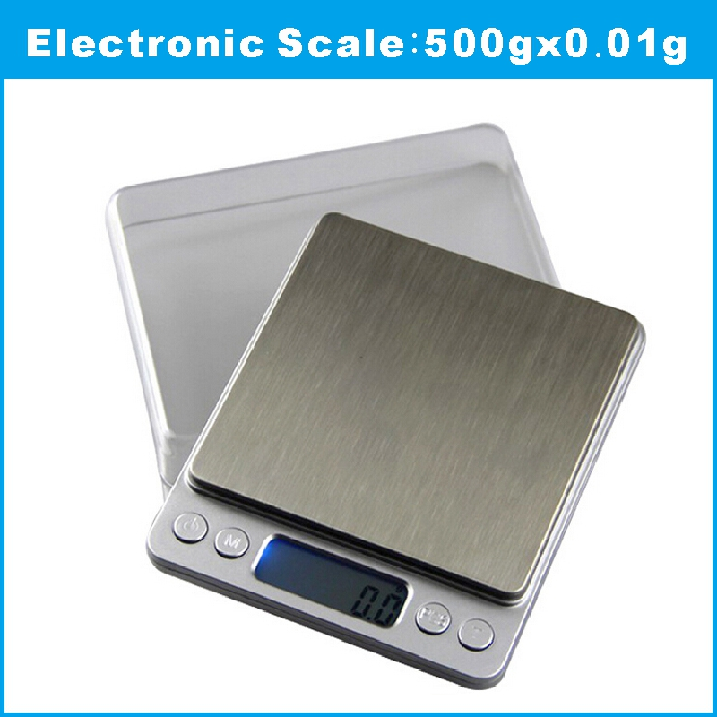 500g x 0.01g Digital scale sterling silver jewelry Scale 0.01 pocket electronic scales 0.01g<br><br>Aliexpress