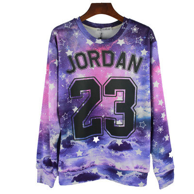 Hot  sale chicago Jordan 23 letter men/women  sweatshirts basketball  stars  hoodies and others pretty sweatshirts top tees